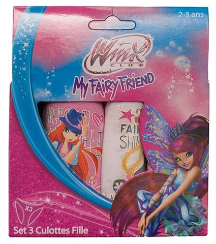 Majtki Winx Club 3 pack.